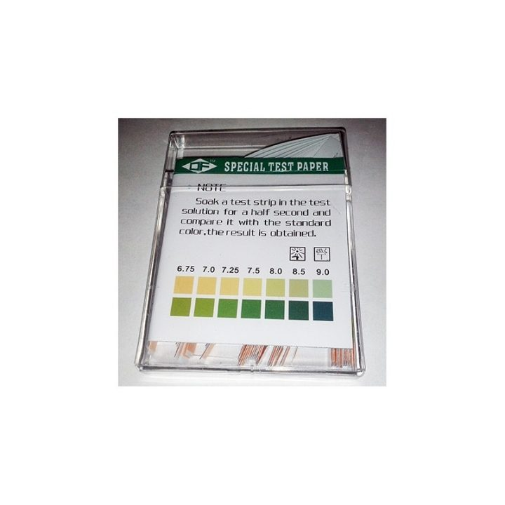 pH TEST IN STRISCE COLORIMETRICHE 100PZ